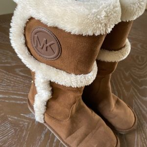Michael Kors Shearling Cold Weather Boots Sz 5